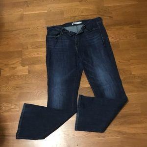 EUC Levi's 515 Bootcut Jeans.  Sz 10.  Dark Wash